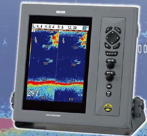 お魚サイズ・デジタル魚探 CVS-1410 TD-501C、またはTD-501T-3B付
