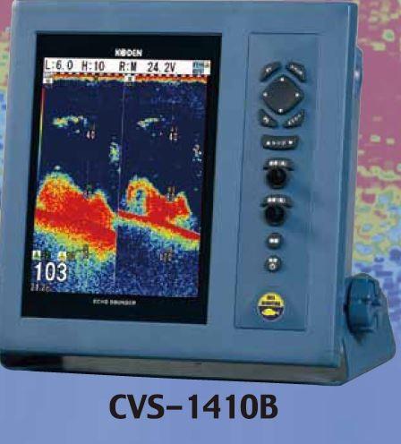お魚サイズ・デジタル魚探 CVS-1410B TDM-091D付【送料無料】