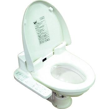 日立 電動マリントイレ ウォシュレット付 24V トイレ 詰り難い 大口径金具セット付 排出38mm(配管金具付き38mm)