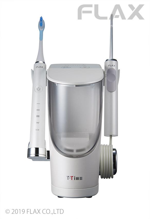 ティータイム BA T-TIME フラックス 電動歯ブラシ付き FLTM-19B