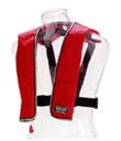 オーシャンライフ 自動膨張式 ライフジャケット 救命胴衣 LG-1 レッド 国土交通省型式承認定品 新基準対応 船舶検査対応 桜マーク