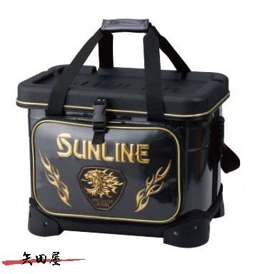 サンライン 磯クールバッグ 25L SFB-0423 ブラック メーカー希望小売価格25%off