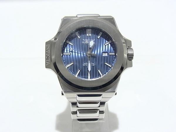 INVICTA インヴィクタ 30131 Akula Men オートマチック メンズ 腕時計 ブルー文字盤【中古】【程度A+】【極上美品】