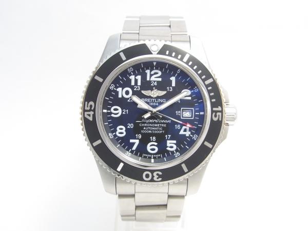 ブライトリング スーパーオーシャン2 A17392 44mm オートマチック メンズ 腕時計 【中古】【程度A】【美品】【保証書付き】