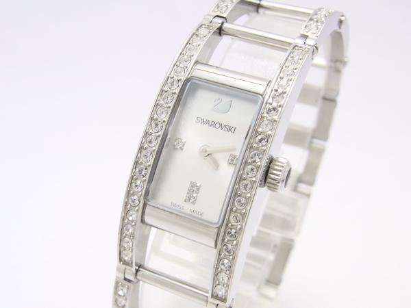 【中古】【程度A-】【良品】スワロフスキー インディラ ラインストーン 1186072 レディース 腕時計 クリスタル