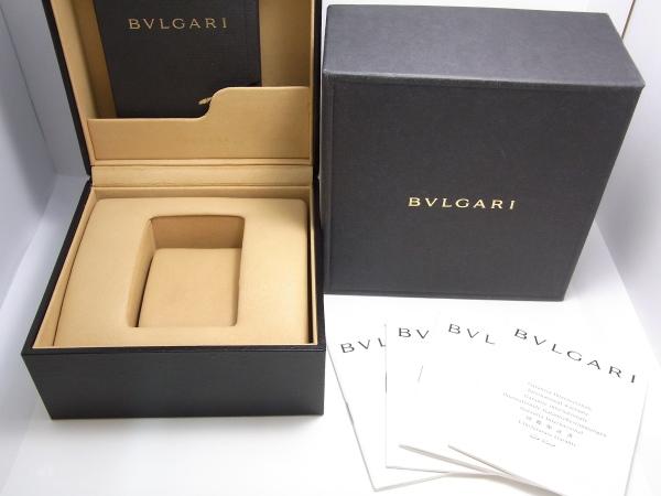 程度B良品 ブルガリ B zero1 BZ22G 750YG ビーゼロワン レディース K18 レザー 腕時計 ブラック文字盤CBsdxrtQh