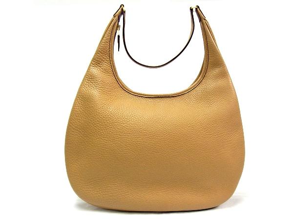 【中古B】【良品】エルメス HERMES ガオ □H刻印 2004年製トリヨンクレマンス ナチュラルカラー ハンドバッグ