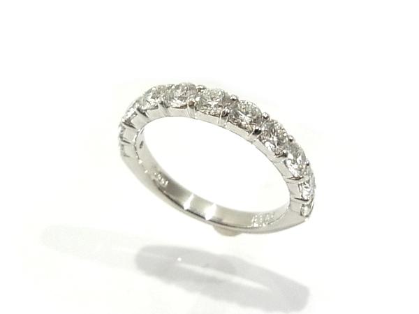 指輪 Pt900 プラチナ ダイヤリング 合計1.09ct【中古】【程度A】【質屋出品】【新品仕上げ済み】【ノーブランド】