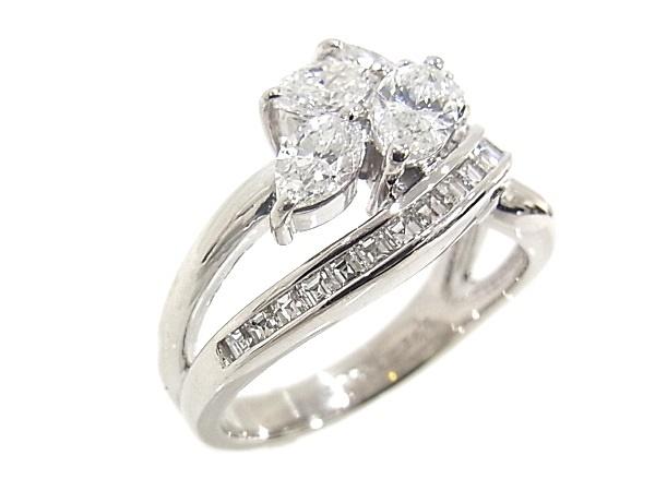 指輪 Pt900 プラチナ ダイヤリング 合計1 23ct 程度A質屋出品新品仕上げ済みノーブランドsdxhroQCBt