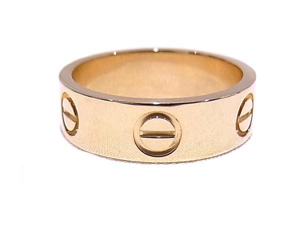 カルティエ Cartier ラブリング B4084650750YG イエローゴールド サイズ #50 約10号【中古】【程度A+】【極上美品】