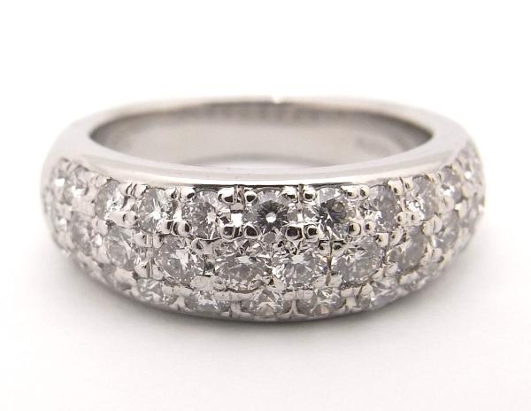 【大幅値下げ致しました!!】Pt900 プラチナ900 指輪 ダイヤモンド 1.00ctノーブランド リング【中古】【程度A】【美品】