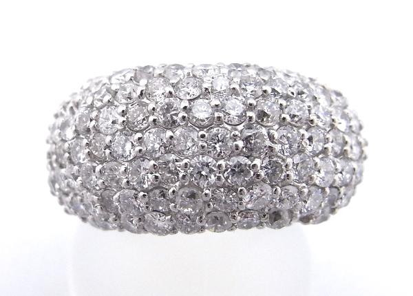 【仕上げ済み】【中古】【程度A】【美品】指輪 リング Pt900 プラチナ900ダイヤモンド 2.00ct