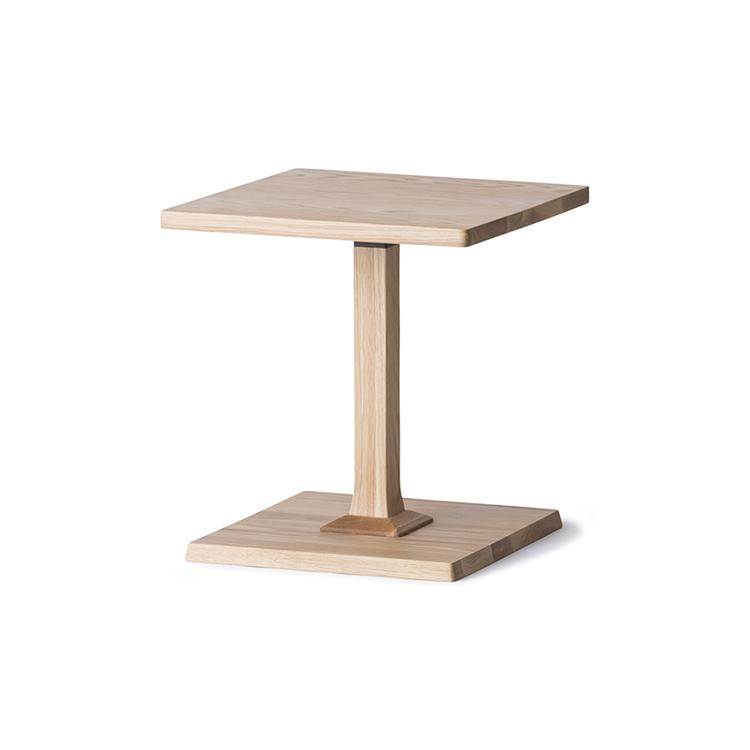 サイドテーブル ナイトテーブル おしゃれ 木製 高さ48cm ソファベッド サイド ソファ シンプル オーク 軽量 軽い ナチュラル 角 『くつろぎ-サイドテーブル(KAKU)』 モダン仏壇 現代仏壇の八木研