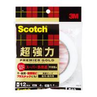 スリーエム 希少 ジャパン 直営限定アウトレット プレミアムゴールドスーパー多用途 SPS-12 超強力両面テープ12mm×4m
