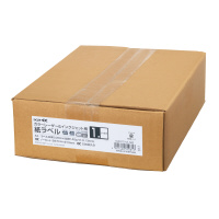 コクヨ 紙ラベル<K2>ノーカット 500枚入り カラーレーザー&インクジェット用 (K2KPC-V1-500)