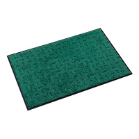 テラモト 【配送条件あり】エコレインマット 風除室・屋内用 グリーンW900×D1800×H10mm