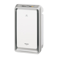 Panasonic 【配送条件あり】ナノイー搭載加湿空気清浄機 18畳用 シルバー W330×D250×H590(F-VXP40-S)