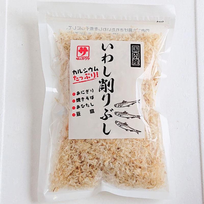 カルシウムたっぷり おにぎり 返品交換不可 焼きそば おひたし いわし削りぶし×3袋 国産いわし使用 お豆腐などに 大人気 送料無料