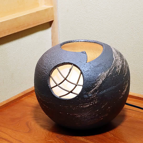 \ 照明 28時間限定!15%OFFクーポン / 信楽焼 信楽焼 照明 やさしい明かりが灯る陶器照明 和風照明 ak-0088 インテリアライト 陶器ライト あんどん ak-0088 スーパーSALE, 液晶保護フィルムとカバーケース卸:1eef3af2 --- vidaperpetua.com.br