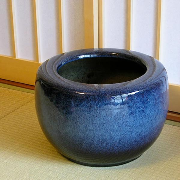 13号 火鉢 陶器 手あぶり 灰 和風 手焙 インテリア ひばち ヒバチ 信楽焼 火鉢 やきもの火鉢 hi-0014