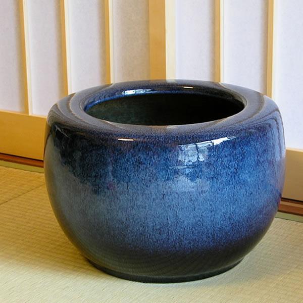 15号 火鉢 陶器 手あぶり 灰 和風 手焙 インテリア ひばち ヒバチ 信楽焼 火鉢 やきもの火鉢 hi-0015