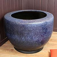 信楽焼 20号特大なまこ火鉢 和風を演出する陶器火鉢です。 陶器ひばち 手焙 手あぶり 信楽焼ひばち hi-0018