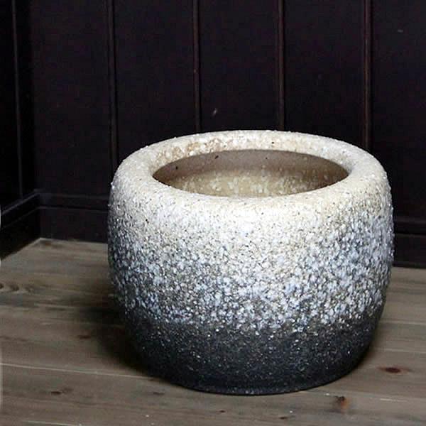 10号 火鉢 陶器 手あぶり 灰 和風 手焙 インテリア ひばち ヒバチ 信楽焼 火鉢 やきもの火鉢 hi-0028