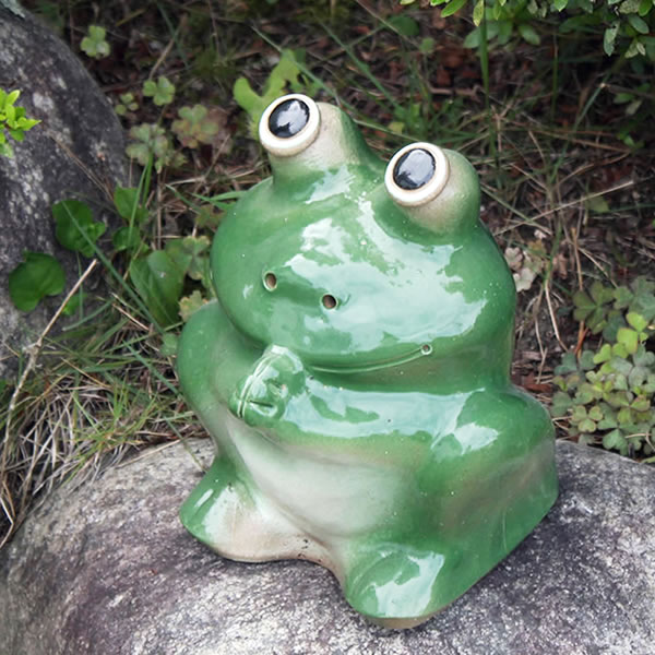 Etonnant Shigaraki Baked 6, Your Frog! Good Luck Frog / Garden To The Front Door  Before Pottery Frog! Pottery / Ceramics / And While Big Frog Shine / Frog /  Ware And ...
