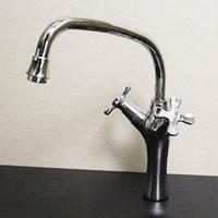 8ba124cf74cc 陶器手洗い鉢用の立水栓 ふくろう 在庫あり
