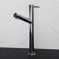 立ち水栓 手洗い鉢用の立水栓 単水栓 se-0007