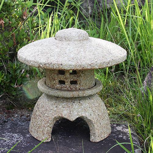 信楽焼 10号古信楽丸雪見灯籠 お庭を飾る陶器燈籠 和風を 感じさせてくれます。信楽焼トウロウ とうろう 灯籠 陶器 陶器燈籠 ok-0063