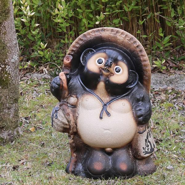 信楽焼 たぬき 信楽焼たぬき 【送料無料】 20号古信楽風たぬき タヌキ 陶器タヌキ たぬき置物 やきもの しがらきやき 狸 信楽 焼き物たぬき 陶器たぬき 陶器狸 狸しがらき 名前入れ ta-0330
