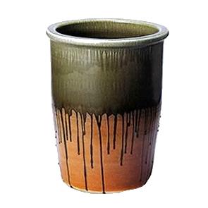 信楽焼 き陶器掛け湯つぼ。陶器浴槽と一緒にお使い 頂ける大ツボ。ご希望のサイズの壷をオーバーメイド 浴槽用陶器のかけ湯つぼ 信楽焼 やきもの かめ 瓶 信楽焼風呂 陶器風呂 ky-0006