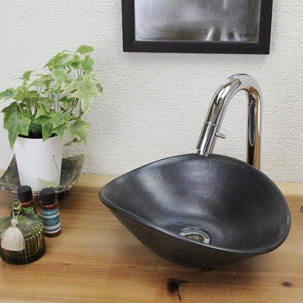 洗面ボール おしゃれ 黒マット小判型 洗面ボウル 和風 洗面鉢 洗面器 手洗器 手洗鉢 洗面シンク 陶器 洗面台 手洗い鉢 tr-1143