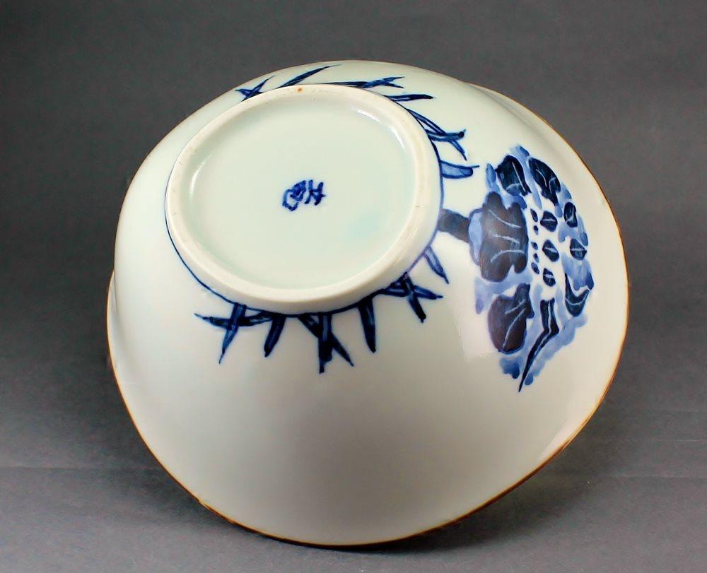 瀬戸焼 オリジナル 手描き アヤメ絵 多様鉢