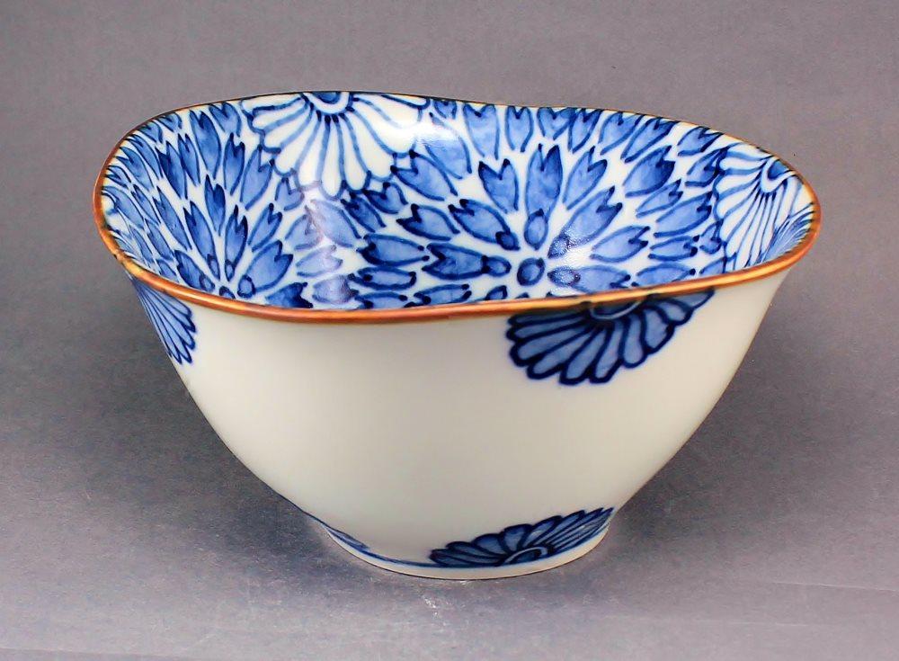 瀬戸焼 オリジナル 手描き 菊絵  多様鉢