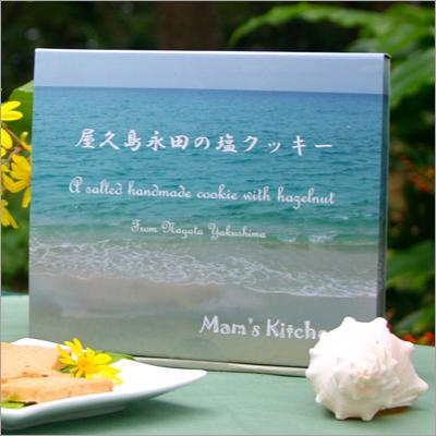 야쿠시마 나가타의 소금 쿠키(12장들이)