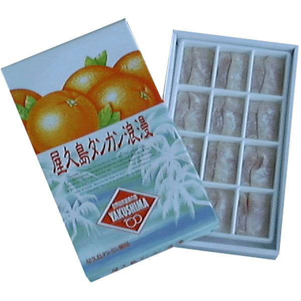 予約 水と光の風味菓子 お求めやすく価格改定 屋久島銘菓屋久島タンカン浪漫 12個入