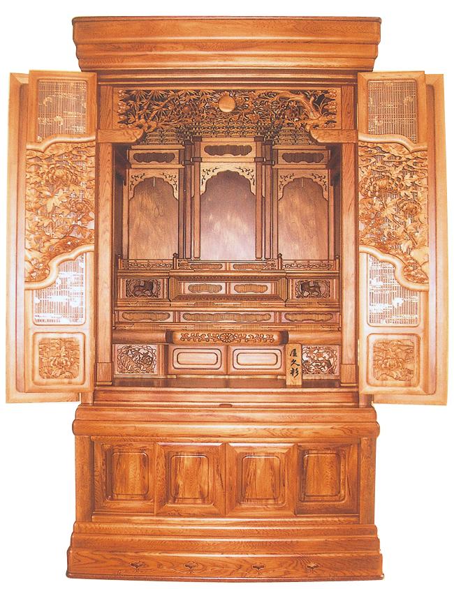 大型仏壇 58-30厚彫