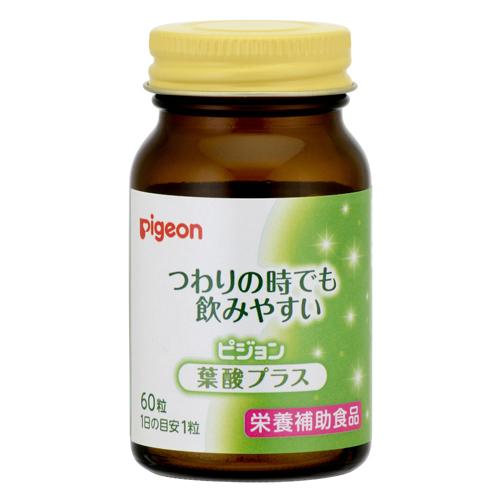 Pigeon vitamin supplements folic acid plus 60 grain into