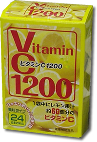 Vitamin C1200 granule type 24 sticks