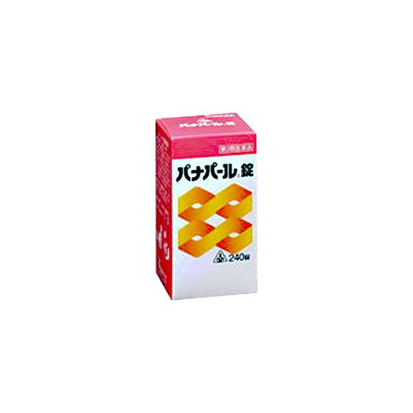 【第3類医薬品】ホノミ漢方 パナパール錠 240錠