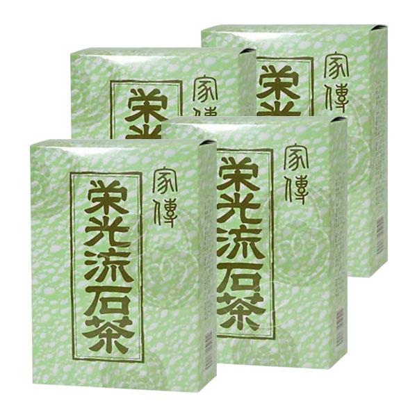 【エントリーでP最大10倍 マラソン期間】家伝 栄光流石茶4箱セット 薄緑の箱  さすがちゃ・りゅうせきちゃ・サスガチャ・リュウセキチャ