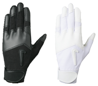 White Nike Batting Gloves - Image Of Gloves 297df23a1bf5a