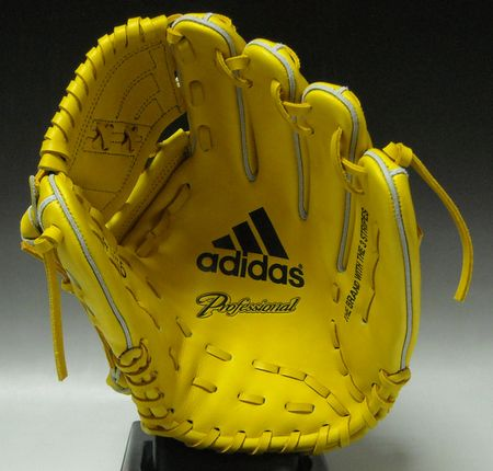 ★★ F4586 ★ E39952: sunshine ★ right arm throw (L) for 56%OFF ★ Adidas ★ rigid glove ★ professional ★ pitcher★