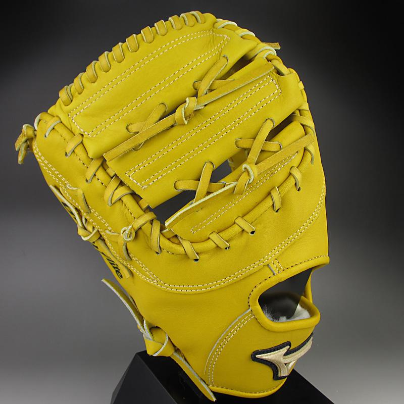 【送料無料】 ミズノ MIZUNO 一般硬式一塁手用 左投げ グローバルエリート QMライン 1AJFH12300(472H)Mナチュラル
