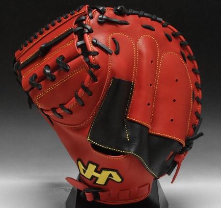 2016 model engneering HATAKEYAMA Yakult Swallows Aikawa model General softball TH-Pro series for catcher TH-YS2 Southpaw (RH)