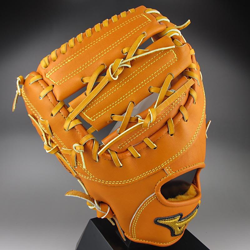 【送料無料】 ミズノ MIZUNO 一般硬式一塁手用 ミット 左投げ ミズノプロ スピードドライブテクノロジー 1AJFH12100(54H)オレンジ