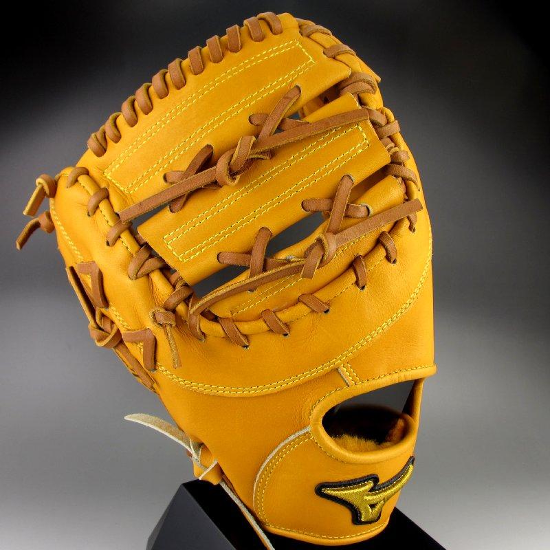 【送料無料】 ミズノ MIZUNO 一般硬式一塁手用 ミット 左投げ ミズノプロ スピードドライブテクノロジー 1AJFH12110(54H)オレンジ