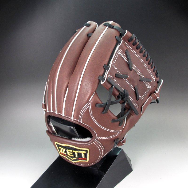 【送料無料】 ゼット ZETT プロステイタスオーダー 硬式グラブ 二塁手用 184型 平野型 チョコブラウン 右投げ BPGPRO184-3700A-LH